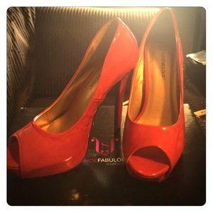 BNWOT never worn Cherry 🍒 Red Sexy Heels!
